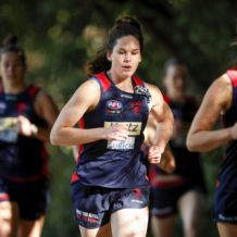 AFLW 2020 Training - Melbourne 051120