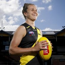 AFLW 2020 Media - Richmond Portraits 161120