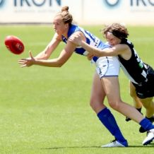 AFLW 2021 Training - Collingwood v North Melbourne Practice Match