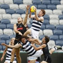 AFL 2021 Training - Geelong v Collingwood Practice Match